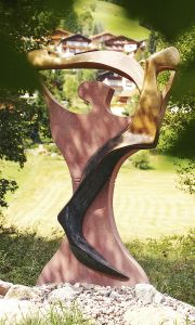 Floerl-hubert-wildschoenau path of consciousness-sonnengesangt-artwork-statue