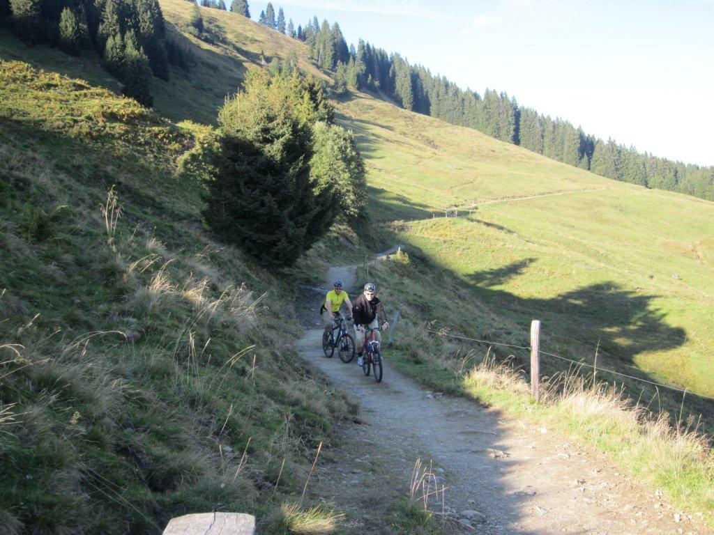 radwege-Wildschoenau-cycling-med-den-hyresvärd-Astoria-apartments-Radln-mountainbike