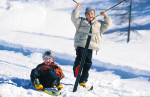 winterfun-children-fun-winter-ski-country trail long-run long-run walk-tyrol-austria-wildschoenau