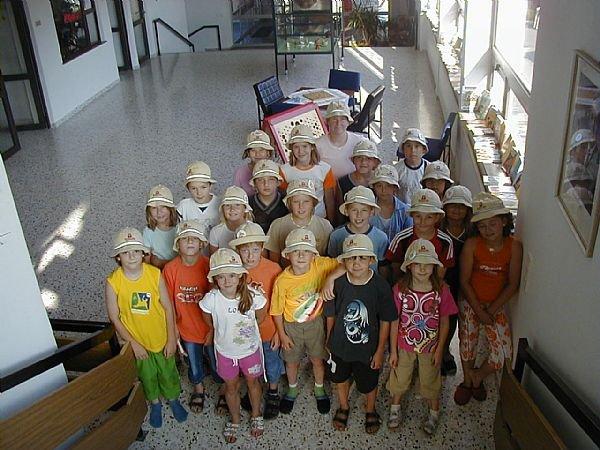 vaikai grupės nuotykių Explorer žaidimas grupės Alpinolino Westendorf