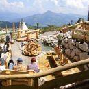 de joacă pentru copii-sălbatic-Kaiser-Tirol-Ellmau-Soell greu Kaiser-funicular-Tirol