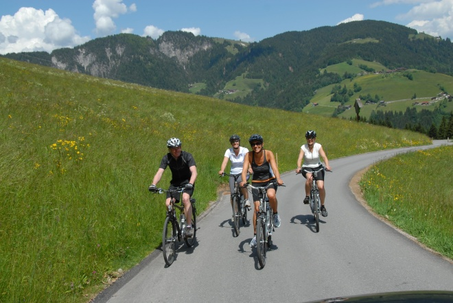 e-bike-região-de-world-maior-bicicleta-mountain-bike-ciclismo de pista wildschoenau-tirol